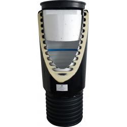 Studnia wodomierzowa PE DN400 H1,25 m ZINPLAST, mrozoodporna