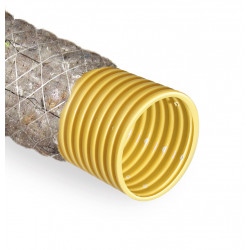 Rura drenarska  80 PVC/50m/PP450 szara otulina