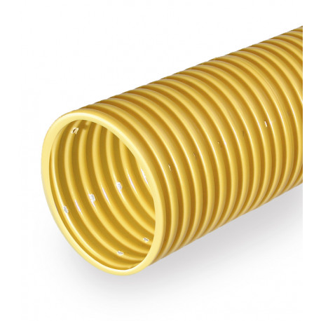 Yellow drainage pipe DN 100