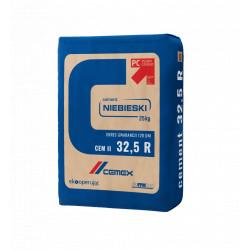 Cement portlandzki 32,5R II/B-V 32,5 R-HSR 25 kg, 56 szt./pal. Niebieski