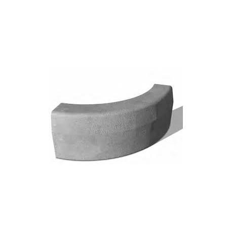 Street Curb curved 15x30 cm R-5, BerdingBeton