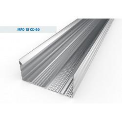 C-stud 60 mm x 2,6 m