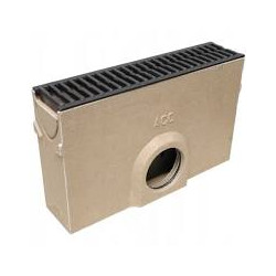 ACO SELF Euroline Sump Unit with cast iron Grating