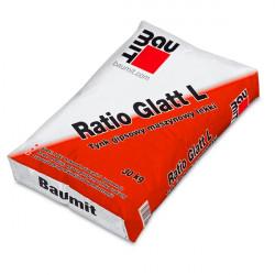 Tynk maszynowo-gipsowy lekki Ratio Glat L BAUMIT 30 kg