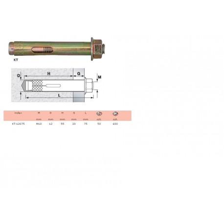 Kotwa KT-12075 do mocowania stopni włazowych