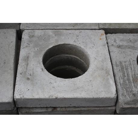Płyta betonowa nośna 6 cm z otworem