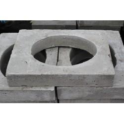 Beton Auflagering für Hydrant 10 cm