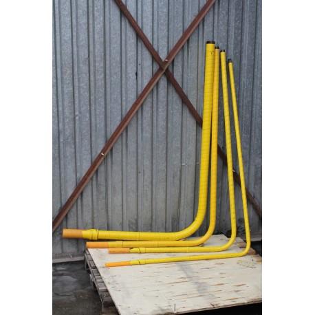 PE-Stahl Bogenverbindung für Gas 32/25