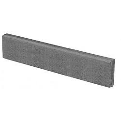 BerdingBeton Round Top Paving Edging 6x25x100 cm, gray