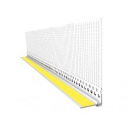 PVC window profile with mesh 2,5 m