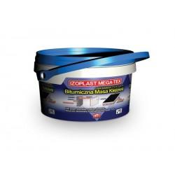Izoplast MEGA-TEX bitumiczna masa klejąca 15 kg
