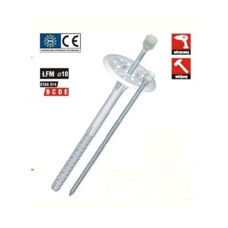 Kołek do mocowanie izolacji ŁFN 10x140
