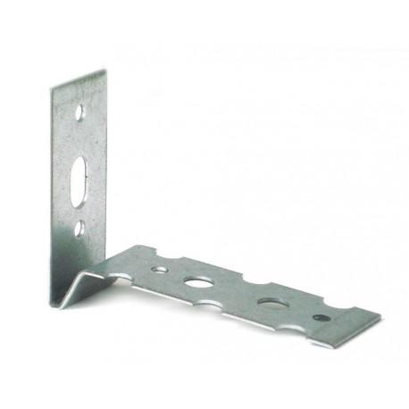 Łącznik do murów K 1 wym: L 40X68 mm 22 x1,25 mm stal ocynkowana (op. 250 szt.)