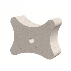 Fibre-reinforced concrete block spacer 35/40/50