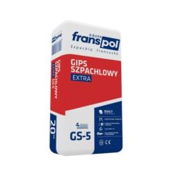 Gips szpachlowy FRANSPOL Extra 20 kg