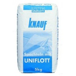 Gypsum filler Knauf UNIFLOTT 5 kg