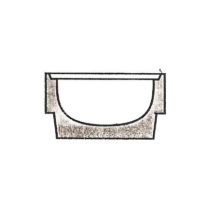 Element studni dno 2a bez odpływu h-28 cm