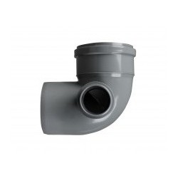 PP Elbow 100x50/90° right