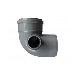 Kolano PP kanalizacyjne 110x50/90° lewy