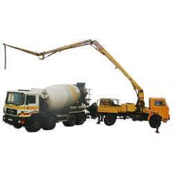 Najem pompy do betonu o wysięgu do 42 m