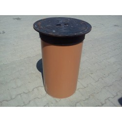 Manhole Cover DN425 D400 with PVC pipe