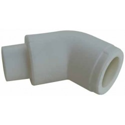 PP Elbow female/male 45°