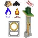 Chimney system universal + Ventilation