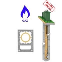 Schornstein Bausatz Gas-TURBO + Lüftung