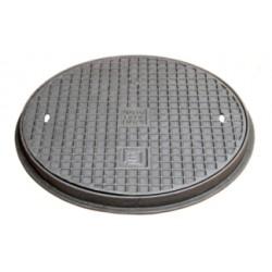 Gusseisenabdeckplatte A15, 500 mm
