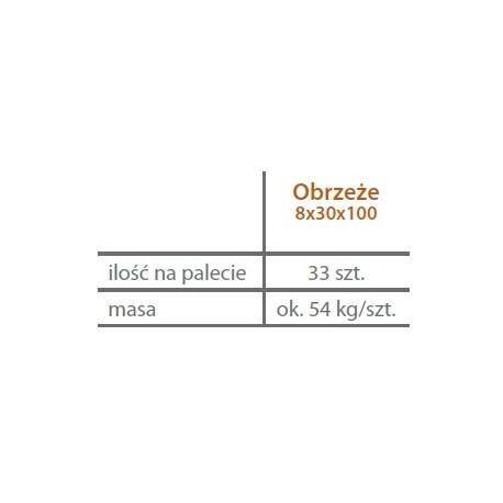 Obrzeże trawnikowe 6/20/100