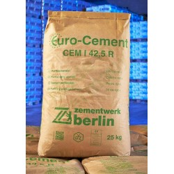 Zement CEM I 42,5R 25 kg Sack
