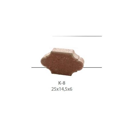 Kostka brukowa K-8 gr. 6 cm