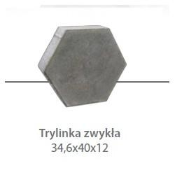 TRYLINKA Straßenplatte 12 cm