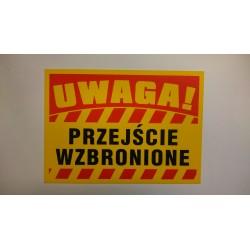 """Warnzeichen """"ZUTRITT VERBOTEN"""""""