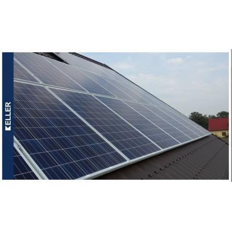 Zestaw Fotowoltaiczny 8 paneli 260Wp moc 2,08 KWP