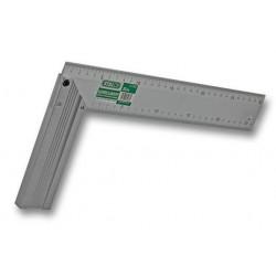 Kątownik aluminiowy stolarski 25 cm S-11925