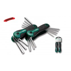 TORX and HEX wrenches