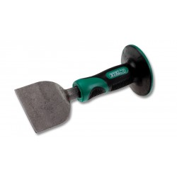 Wide head chisel