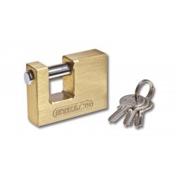 Brass spindle lock 60 mm