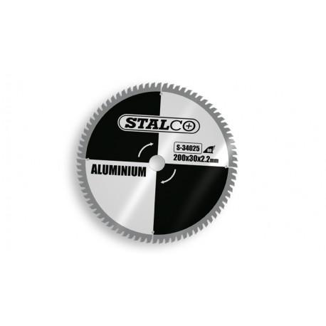 Circular saw for aluminum Ø20x3 cm - 60 teeth
