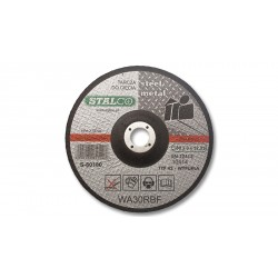 Tarcza metal wypuk.115x3.0mm S-60115
