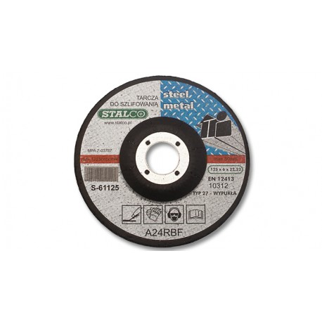 Grinding disc for metal Ø23 cm