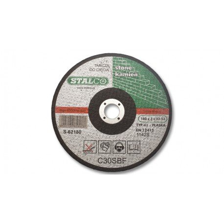 Flat cutting disc for concrete Ø11,5cm (1,5 mm)