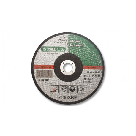 Flat cutting disc for concrete Ø18 cm