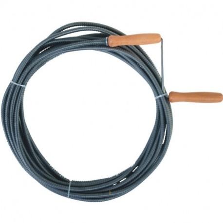 Spirala do udrażniania kanalizacji ocynk śr. 6 mm dł. 3 m
