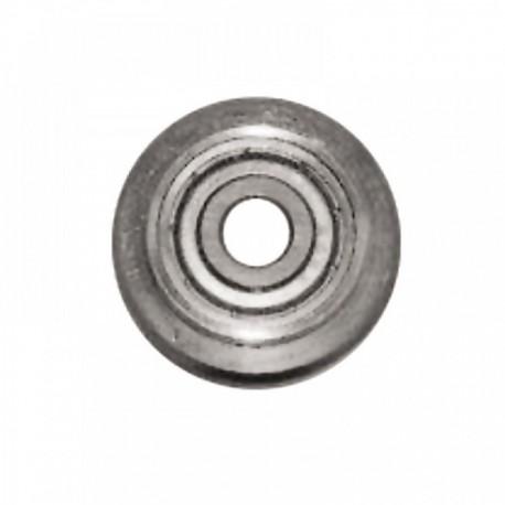Kółko z łożyskiem do maszyn glazur. 1151-1154 śr. 22 mm gr. 2 mm + śruba