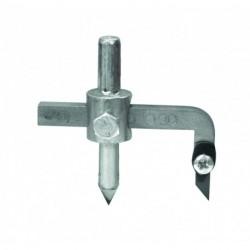 Fliesenlochschneider Ø 32-120 mm austauschbare Klinge
