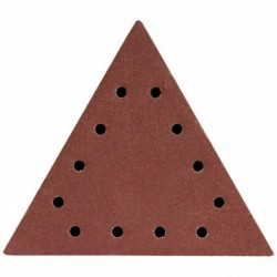 Dysk polerski trójkątny 80, z otworami, 5 szt.