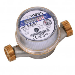 Wodomierz DN15 R80 zimna woda, Q1,6 m3/h, typ Picoflux, L-110 mm