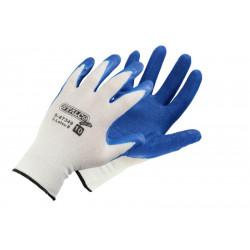 Latex-beschichtete Polyester-Baumwollhandschuhe S-Latex B